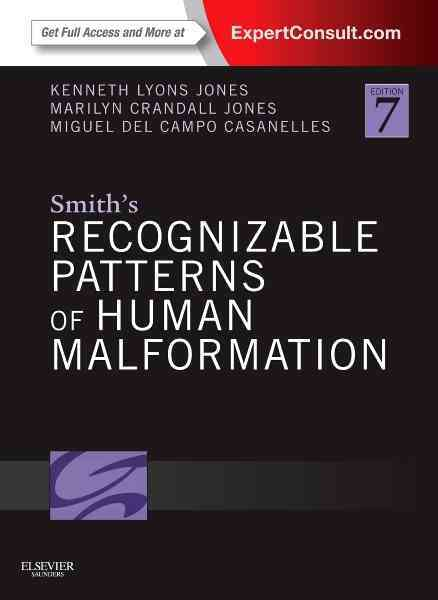 Smith's Recognizable Patterns of Human Malformation By Jones, Kenneth Lyons/ Jones, Marilyn Crandall/ Del Campo, Miguel